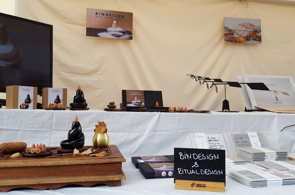 Ritual Design at 'Trotsmarkt' Baarn 10/11