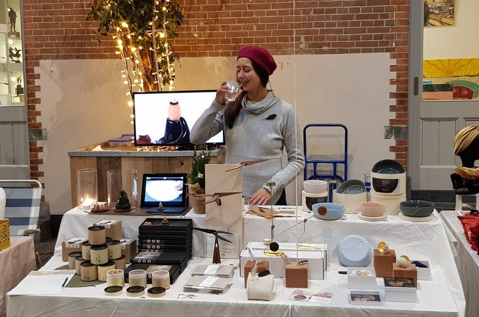 Ritual Design op Xmas market in Lichtfabriek Haarlem 22/12